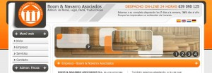 Interface boomynavarro.com