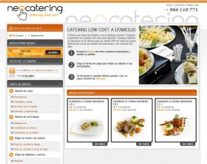 Web de Neocatering