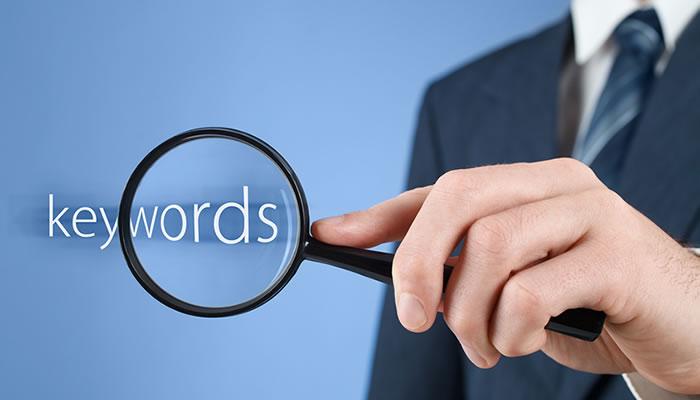 Buscas palabras clave para SEO