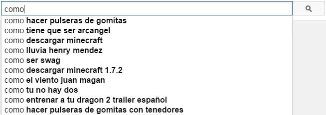 Sugerencias de YouTube